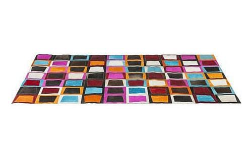 tapis vintage kare
