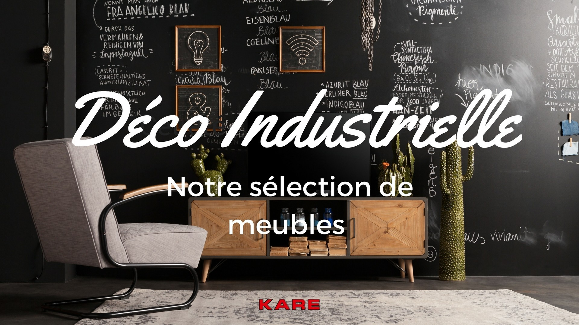 d co industrielle notre s lection de meubles design kare click. Black Bedroom Furniture Sets. Home Design Ideas