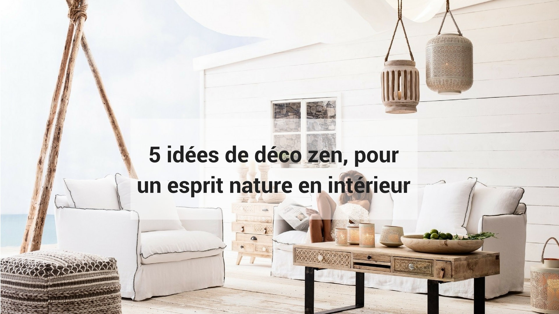5 id es de d co zen pour un esprit nature en int rieur kare click. Black Bedroom Furniture Sets. Home Design Ideas