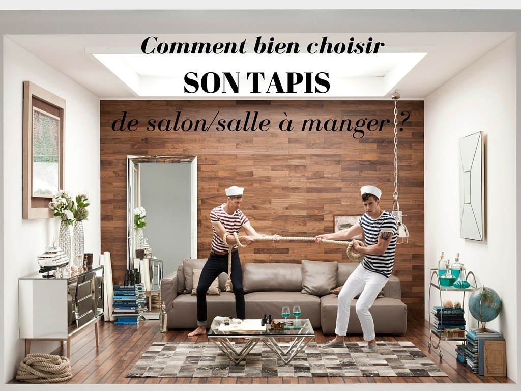 comment bien choisir son tapis de salon salle manger. Black Bedroom Furniture Sets. Home Design Ideas