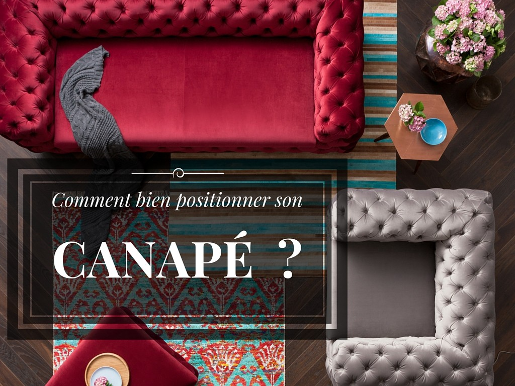 Comment bien positionner son canap kare click - 2 canapes dans un salon ...